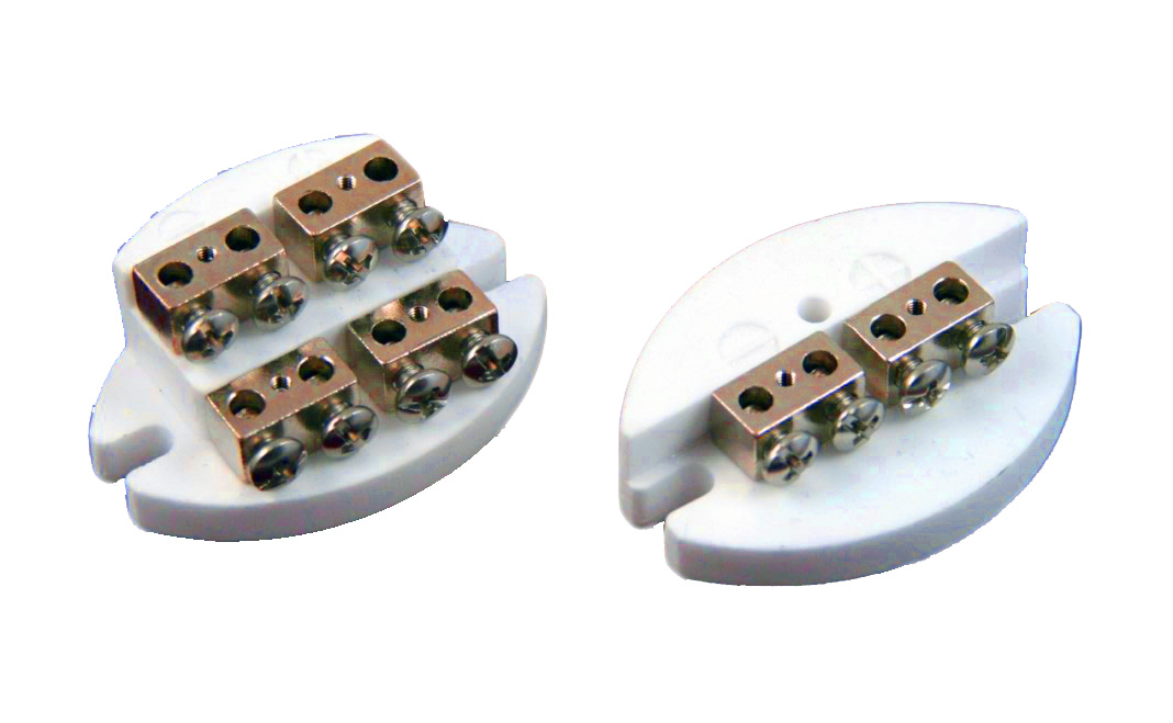 Ceramic Terminal Block Industrial Heads For Spring Loading Industrial Heads