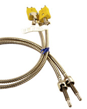 PL Style Single Fixed Bayonet Thermocouple